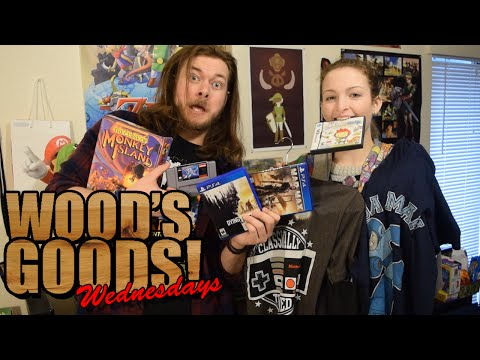 MEGAMAN X, MAD MAX PS4 And More! | Wood's Goods | Christmas Pick Up's!