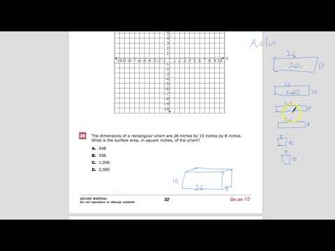 Question 25 - Geometry - TNReady Practice Test