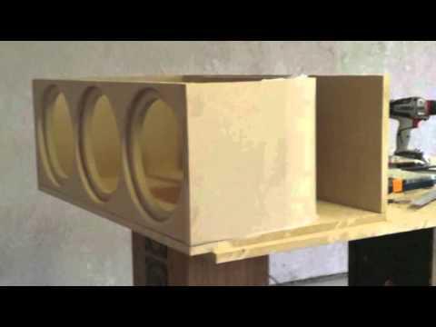 RE Audio Rex 10s subwoofer box build