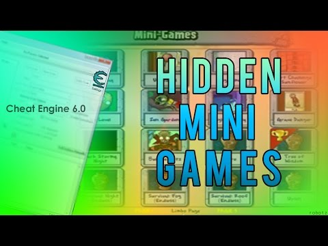Plants Vs Zombies - How to get the Hidden Mini Games