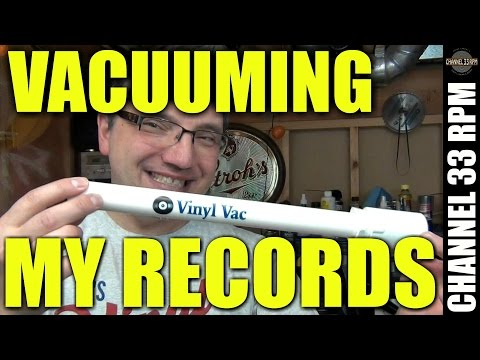Cleaning records with a vacuum | Vinyl Vac demo and review