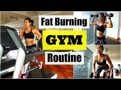 My Fat Burning GYM Routine (Treadmill Interval Running)