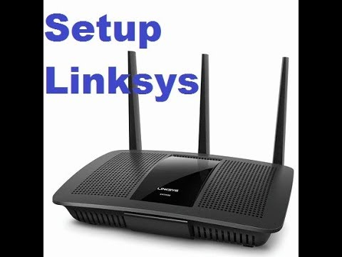 how to setup linksys ea8500  and configure wireless router