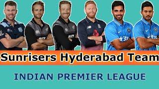SRH Full Team 2019 | Hyderabad New Team | SRH Full New Squad | VIVO IPL 2019