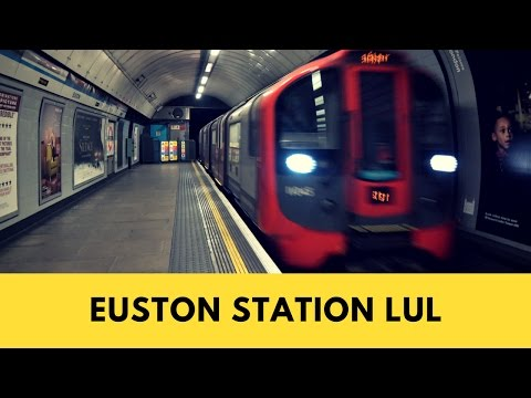 Euston Station London | Victoria Line | London Underground | 30th December 2016
