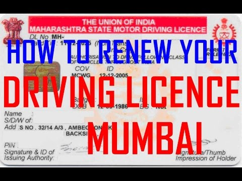How to Renew Your Driving License Mumbai