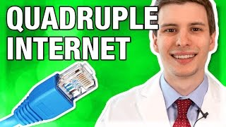 Quadruple Your Internet Speed for Free