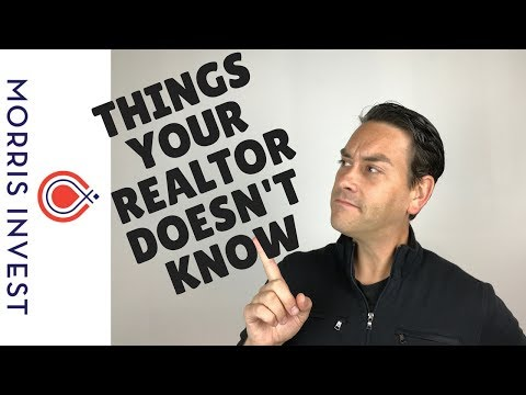 Things Your Realtor Doesn't Know About Real Estate Investing