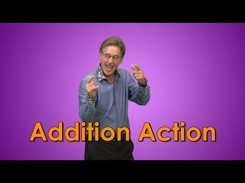 Addition Song for kids | Addition Facts | Addition Action | Jack Hartmann