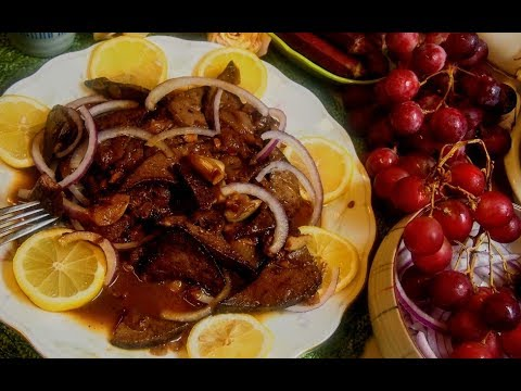 Liver Steak Tagalog