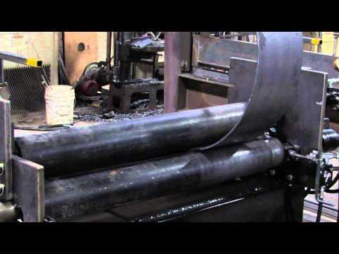 steel plate roller