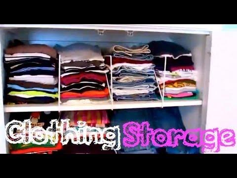 •• Clothing Storage? ••