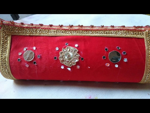 Bangle box DIY from waste X-ray | how to make bangle box at home
