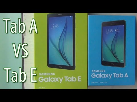 Samsung Galaxy Tab A VS Tab E- Which Is Better?