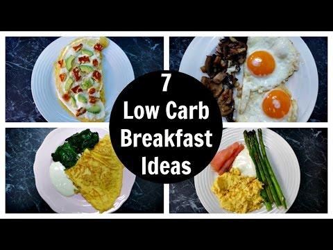 7 Low Carb Breakfast Ideas - A Week Of Keto Breakfast Recipes