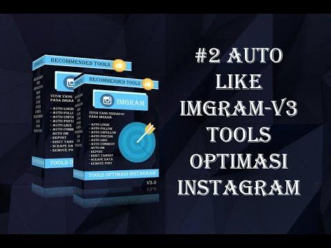 Cara menggunakan Fitur Auto Like imGram-v3