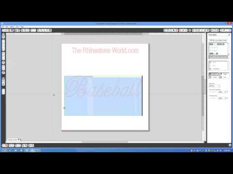 How to adjust your Rhinestone Font design in Silhouette Studio Designer Edition