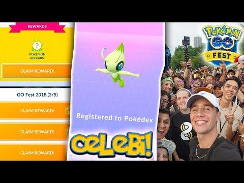 Xxx Mp4 I CAUGHT CELEBI IN POKÉMON GO NEW MYTHICAL CELEBI Special Research At Pokémon GO Fest 2018 3gp Sex