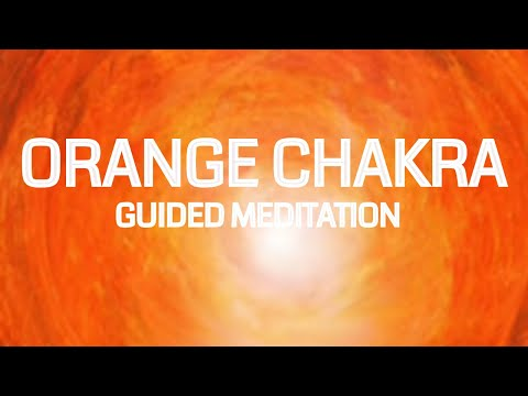 10 Minute Guided Orange Sacral Chakra Meditation | Creativity - Love - Sexuality
