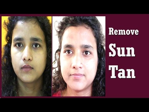 How to Remove Sun Tan From Face, Hands, Legs, Arms, Neck Instantly  - Beauty Tips