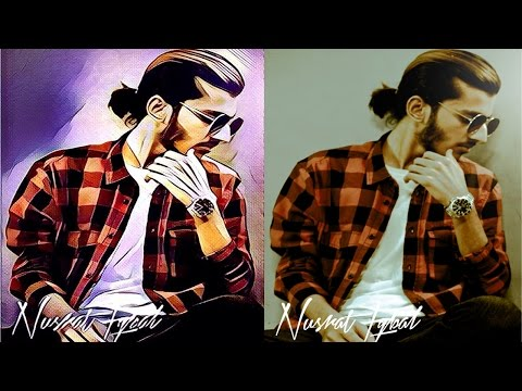 How to turn your picture into cartoon or artwork. Easy