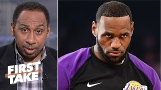 Reports of LeBron refusing to be coached is disrespectful – Stephen A. | First Take