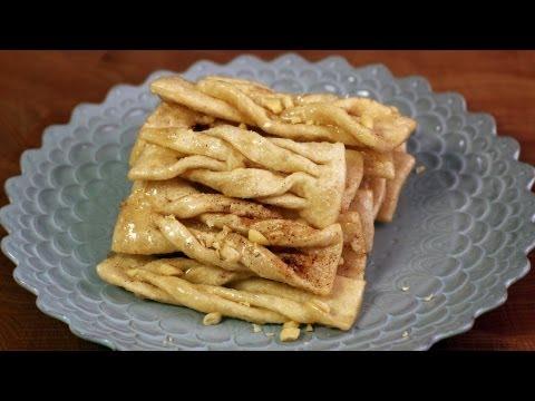 Korean ginger cookies (