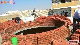 تعلم بناء القبه مسجد الجزء الاول 1
