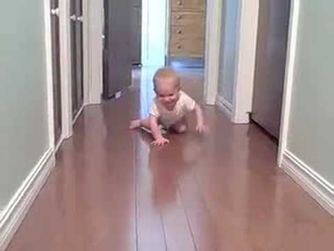 Miles' patented crawling technique