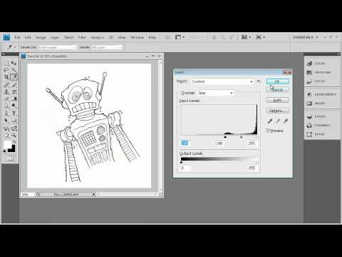 Adobe CS4 Design: Work Flow:VECTOR IMAGE EDITING WITH ILLUSTRATOR®:  Working with Live Trace