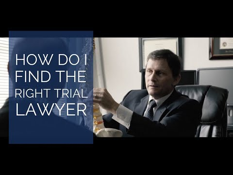 How do I find the right trial lawyer? | San Diego, CA | Simpson Law Group