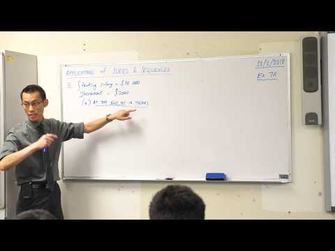 Introduction to Financial Series (Example 1 of 2: Rising salary)