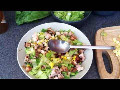 How to Make a Chipotle Style Salad Bowl at Home