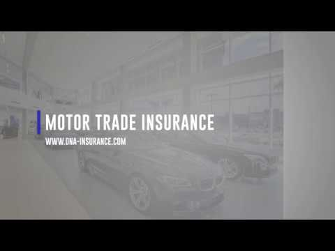 Motor Trade Insurance UK - Traders Insurance From DNA Insurance