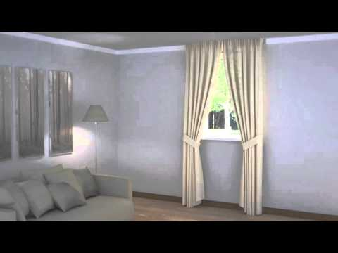 How to Dress Windows | Window Close to Ceiling