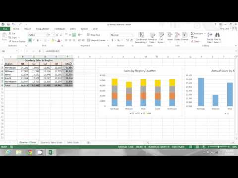 How to Hide Formulas in an Excel Spreadsheet : Microsoft Office Tips