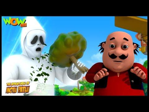 Tree Eater Ghost - Motu Patlu in Hindi - 3D Animation Cartoon for Kids -As seen on Nick