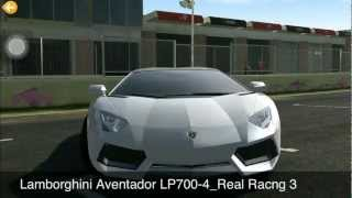 Real Racing 3 vs. Need for Speed Most Wanted: Test graphic, engine sound and more...