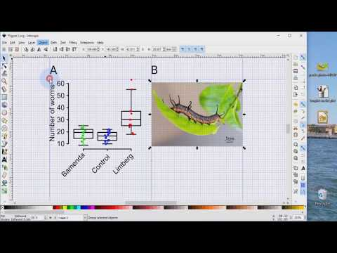 Inkscape for scientists - 05 | Importing an image (picture) into a data figure