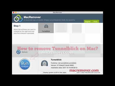 How To Remove Tunnelblick on your macOS and Mac OS X?