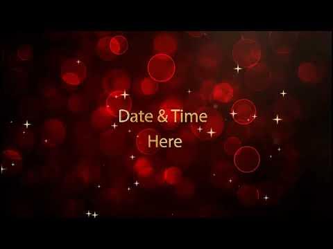Engagement Invitatin Video