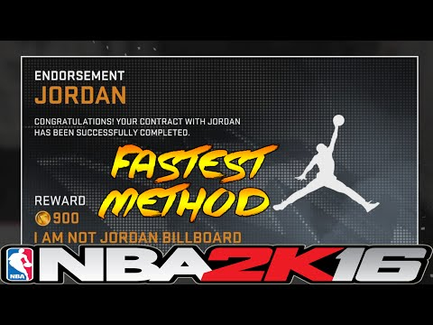 NBA 2K16 Fastest Way To Get Jordan Shoe Deal ⋆#NBA2K16⋆
