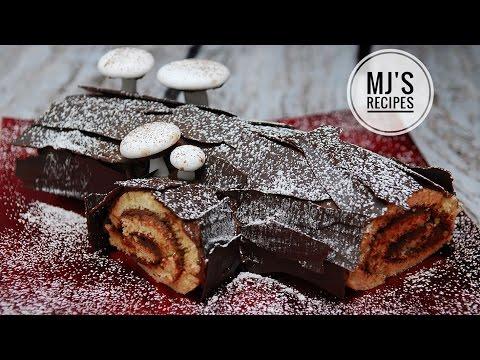YULE LOG CAKE - BÛCHE DE NOËL