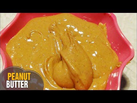 Peanut Butter Recipe in Telugu | How to make pea nut butter at home | Home made peanut butter
