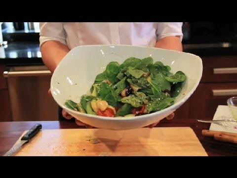 Italian Spinach Salad : Spinach Salads