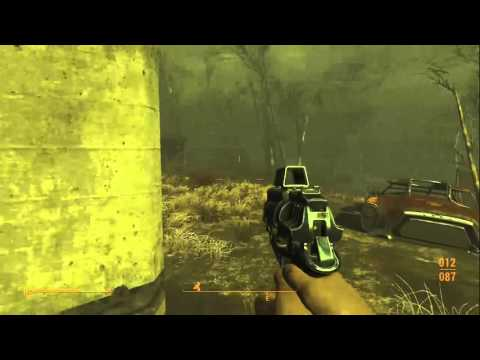 Fallout 4! Power Armor Mini Gun and a Mini Nuke!