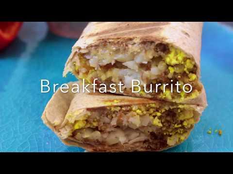 Easy Grab-n-Go Vegan Breakfast Burrito