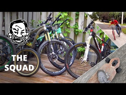 Epic Bike Check! - The whole squad and more