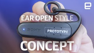 Sony Ear Open Style Concept hands-on at IFA 2017