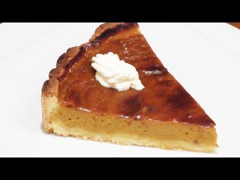 Thanksgiving Sweet Pumpkin Pie Recipe - Mark's Cuisine #71